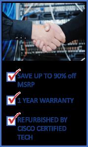 Buy Cisco Equipment at 90% off OEM prices